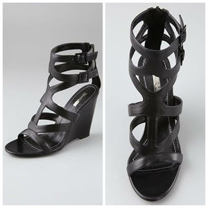Report Signature Mazeau Wedge Strappy Sandals